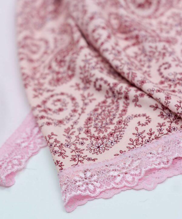 Pijama Conjunto Rosa con Encaje