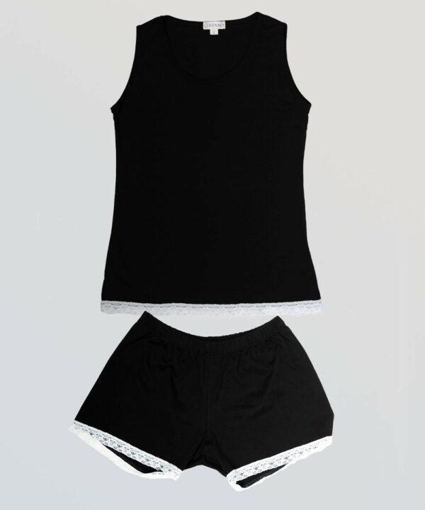 Pijama Sexy Negro