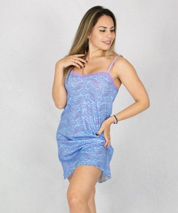 Pijama Vestido celeste