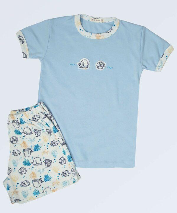Pijama conjunto Peces