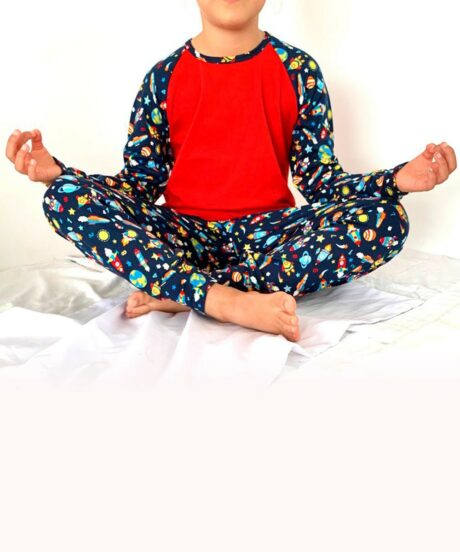 Pijama conjunto naves